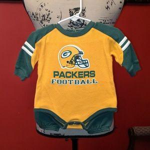 🐢3 for $9🐢 NFL Packers onesie & pants set 💚💛